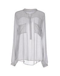 I Heart Shirts Blouses Women Light Grey