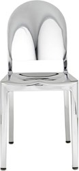 Emeco Morgans Chair Black Silver