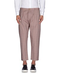 People Trousers Casual Trousers Men Maroon