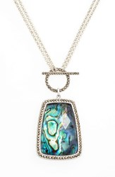 Judith Jack Women's Semiprecious Stone Pendant Necklace