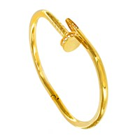 Infinity And Co Naomi Bangle Gold