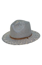 Peter Grimm Kara Straw Resort Hat Blue