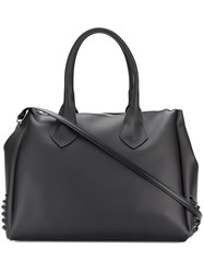 Gum Large Stud Detail Tote Bag Black
