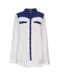 Tommy Hilfiger Denim Shirts Shirts Women White