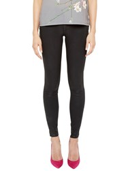 Ted Baker Annna Wax Finish Jeans Black