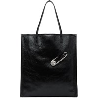 Versus Black Safety Pin Tote