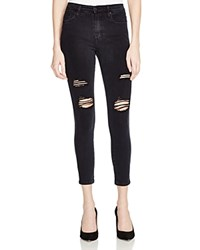 Nobody Cult Destructed Skinny Ankle Jeans In Bowie