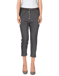 Pinko Black Trousers 3 4 Length Trousers Women Lead