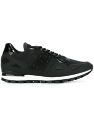 Dirk Bikkembergs Lace Up Sneakers Black