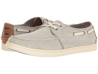 Toms Culver Lace Up Drizzle Grey Coated Linen Men's Lace Up Casual Shoes Gray