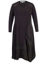 Chesca Taffeta Puff Dress Black