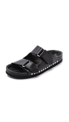 Iro Konda Two Band Sandals Black