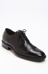 Men's Johnston And Murphy 'Larsey' Oxford Black