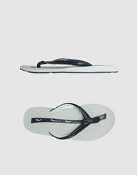Bruno Magli Thong Sandals Dark Blue