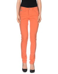 Pepe Jeans Trousers Casual Trousers Women Orange