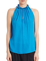 Ramy Brook Miranda Halter Breeze Blue