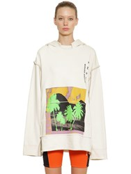 Ambush Oversized Cotton Sweatshirt Off White