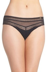 Chantelle Women's Intimates 'Festivite' Bikini Briefs Black