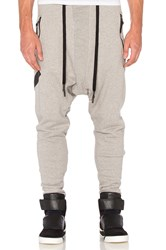 11 By Boris Bidjan Saberi Printed Sweatpants Grey