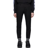 Dolce And Gabbana Black Cuffed Cargo Pants