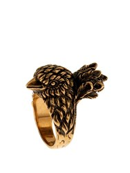 Gucci Bird Brass Ring Gold