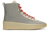 Fear Of God Grey And Beige Hiking Boots
