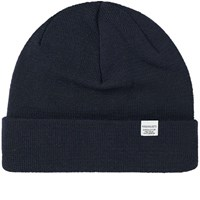 Norse Projects Top Beanie Blue