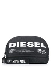 Diesel New D Easy Zipped Pouch Blue