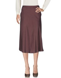 Selected Femme 3 4 Length Skirts Cocoa