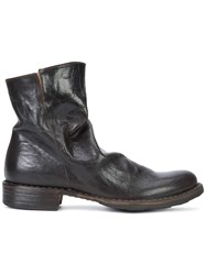 Fiorentini Baker Zipped Ankle Boots Brown