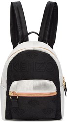 Kenzo Black And White Kombo Backpack