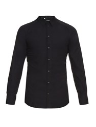 Dolce And Gabbana Gold Fit Cotton Double Placket Shirt