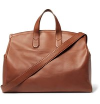 Dunhill Duke Leather Holdall Tan
