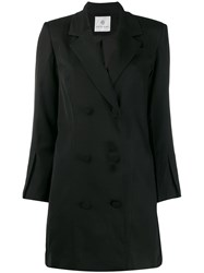 Anine Bing Francoise Blazer Dress Black