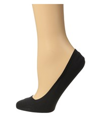 Falke Cotton Touch Invisible Socks Black Women's Low Cut Socks Shoes