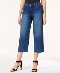 Styleandco. Style And Co. Petite Angel Wash Culotte Jeans Only At Macy's