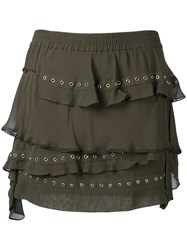 Iro Shelan Skirt Green