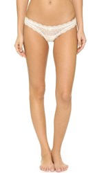 Eberjey Delirious Low Rise Thong Ivory