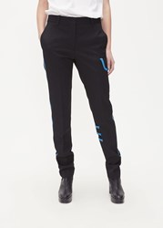 Calvin Klein 205W39nyc 'S Contrast Detail Pant In Black Size 44 100 Wool