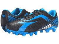 Diadora 7Fifty Mg 14 Black Blue Fluo Men's Soccer Shoes