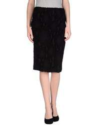 Andrea Incontri 3 4 Length Skirts Black