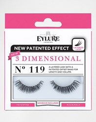 Eylure 3 Dimensional Lashes No. 119 3 Dimensional 119 La Black