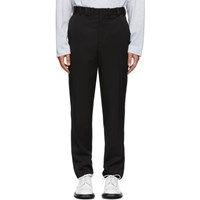 Y Project Black Tag Trousers