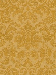 Etro Leucio Printed Wallpaper Yellow