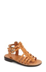 Women's Jerusalem Sandals 'Leah' Sandal Tan Leather