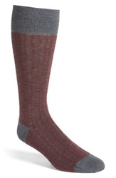 Boss Men's 'Feeder Stripe' Socks Medium Grey