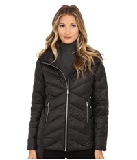 Sam Edelman Hooded Packable Down Jacket Black Women's Coat