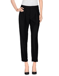 Akris Punto Casual Pants Black