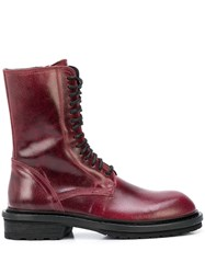 Ann Demeulemeester Lace Up Ankle Boots 60