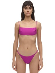 Stella Mccartney Bikini Top W Thin Straps Fuchsia